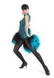 Estilo de Latina del bailarín del salón de baile Fotos de archivo