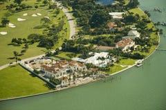Propiedades inmobiliarias en Miami Foto de archivo