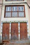 Estilo de Nepal da casa no quadrado de Patan Durbar Fotos de Stock Royalty Free