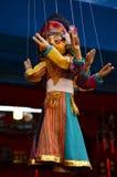 Estilo de Nepal de la marioneta en Thamel Katmandu Nepal Fotografía de archivo