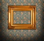 Estilo de oro del Barroco del marco fotos de archivo