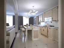 Estilo de provence da cozinha Imagem de Stock