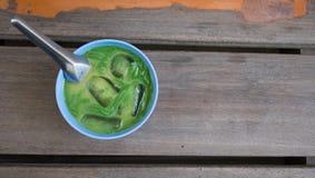 Estilo de Tailândia da sobremesa Nomeie Lod Chong fotografia de stock royalty free