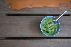 Estilo de Tailândia da sobremesa Nomeie Lod Chong imagens de stock