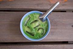 Estilo de Tailândia da sobremesa Nomeie Lod Chong imagem de stock royalty free