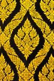 Estilo de Tailandia de la textura en la pared Fotos de archivo