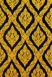 Estilo de Tailandia de la textura en la pared Fotos de archivo libres de regalías