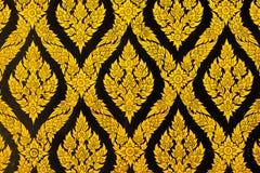 Estilo de Tailandia de la textura en la pared Foto de archivo