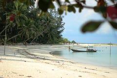 Estilo de vida da praia em Tailândia Imagem de Stock Royalty Free