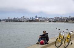 Estilo de vida de San Francisco Foto de Stock