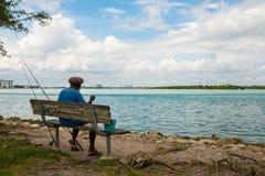 Estilo de vida do pescador Imagens de Stock Royalty Free