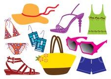 Estilo de vida do verão ilustração stock