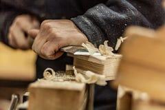 Estilo de vida do Woodworking, elementos amigáveis do projeto do eco orgânico fotos de stock royalty free