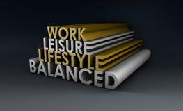Estilo de vida equilibrado Imagens de Stock