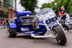 Estilo de vida - motociclistas no passeio Imagens de Stock