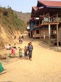Estilo de vida no Lao Fotos de Stock