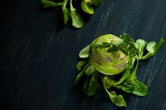 Estilo de vida saudável moderno com alimento local Imagens de Stock