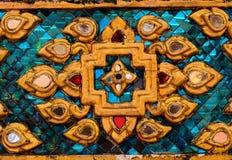 Estilo de vidro do teste padrão de mosaico da cor Imagens de Stock Royalty Free