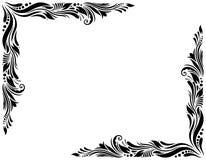 Estilo decorativo 1 de la frontera grande ilustración del vector