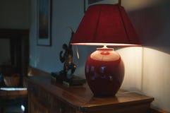 Estilo del art déco de la lámpara Foto de archivo