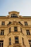 Estilo del art nouveau en Viena imagenes de archivo