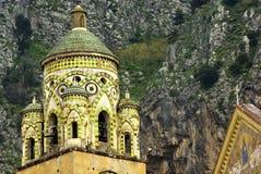 Estilo del bizantino de la torre de iglesia Foto de archivo libre de regalías