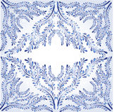 Estilo del fondo de la bandera del invierno Imagen de archivo