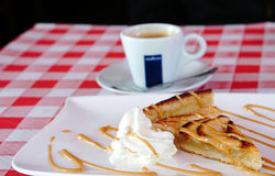 Estilo del francés de la empanada de Apple Imagenes de archivo
