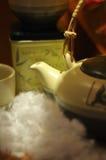 Estilo del inglés de la taza de té Imagen de archivo libre de regalías