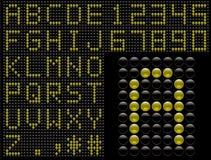 Estilo del marcador de los símbolos del vector Imágenes de archivo libres de regalías