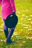 Estilo del otoño en el parque Imagen de archivo