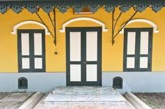 Estilo del portugués de Wat Nivet Fotos de archivo libres de regalías
