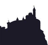 Estilo del románico del castillo Gráfico del vector Imagen de archivo