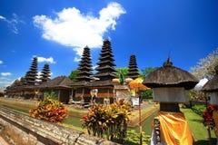 Estilo del tejado de Bali, Mengwi Indonesia Foto de archivo libre de regalías
