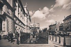 Estilo del vintage de Londres imagen de archivo libre de regalías