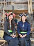 estilo do asiático das meninas do sorriso foto de stock