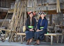 estilo do asiático das meninas do sorriso imagens de stock royalty free