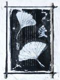 Estilo do asian da arte -final ilustração do vetor