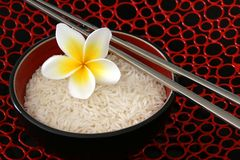 Estilo do Asian do arroz Foto de Stock Royalty Free