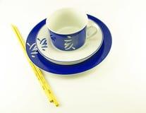 Estilo do Asian dos pratos Imagem de Stock