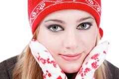 Estilo do inverno Fotografia de Stock Royalty Free