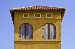 Estilo do italiano da janela Imagem de Stock
