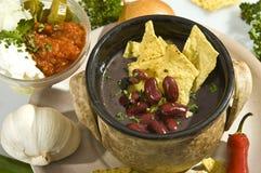 Estilo do mexicano do carne do engodo da sopa Imagem de Stock