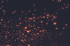 Estilo do vintage do festival de lanterna Imagem de Stock