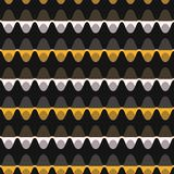 estilo Dot Stripe Seamless Vetora Pattern dos anos 60 ilustração royalty free