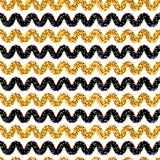 estilo Dot Stripes Seamless Vetora Pattern dos anos 60 ilustração royalty free