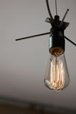 Estilo Edison Light Bulb del vintage Imagenes de archivo