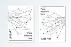 Estilo elegante y moderno del diseño del folleto del negocio libre illustration