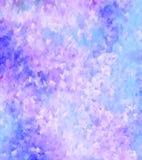 Estilo en colores pastel suave de la pintura del fondo-agua Imagenes de archivo