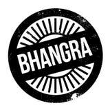 Estilo famoso de la danza, sello de Bhangra ilustración del vector
